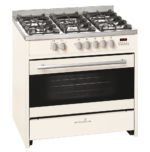 Scandium Cream Upright Cooker Gas-Electric 90cm SCU900CR