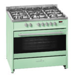 Scandium Light Green Upright Cooker Gas-Electric 90cm SCU900LG