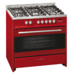 Scandium Red Upright Cooktop